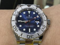 Rolex Yacht Master Blue Dial Year 2016 -Swiss Hour