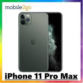 IPhone 11 Pro Max [256GB ROM | Green] Ori Msia Set