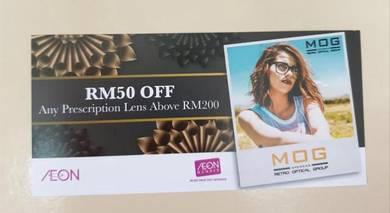 MOG Eyewear voucher