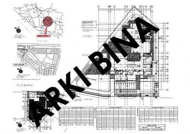 Pelukis Pelan Arkitek, Civil & Struture