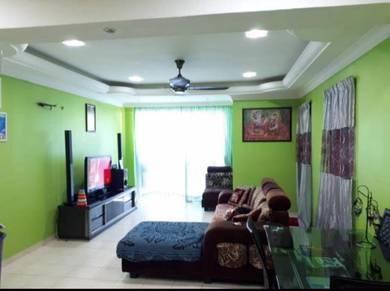 Super low deposit renovated lakeview apartment tmn jasa perwira