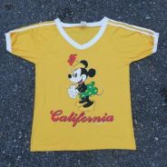 Vtg Minnie mouse California