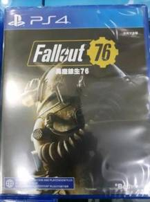 PS4 Game NEW AND SEALED Fallout 76 R3