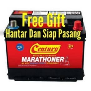 Car battery bateri kereta delivery beteri waja 125