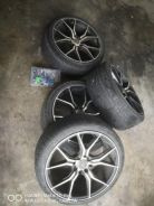 Rim size 17 + tyre