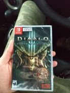 Diablo 3 eternal collection - nintendo switch game