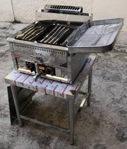Auto GAS deep fryer 17L with Stand ayam gunting