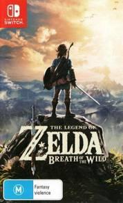 Nintendo switch game zelda