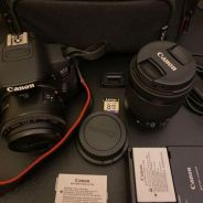 EOS 700D MADE IN JAPAN with 50mm and STM18-35mm