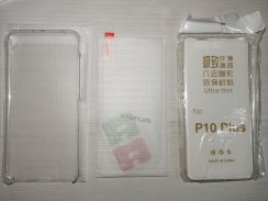 Glass screen protector and 2 casing for P10 Plus