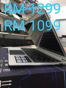 Laptop Baru murah 1 tahun warranty di amys compute