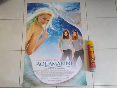 Poster Original AQUAMARINE Limited Edition 2005