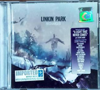 IMPORTED CD LINKIN PARK Recharged