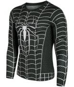 Superhero D56 Quick Dry Sport Long Sleeved T Shirt