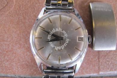 TITUS 1967 Winding Swiss Watch Certificate seiko