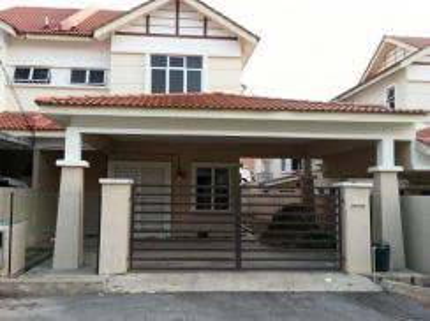 Rumah Berkembar 2 Tingkat untuk dijual di Bandar Indera Mahkota 8