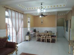 Pulai indah double storey semi d cluster house, fully renovated