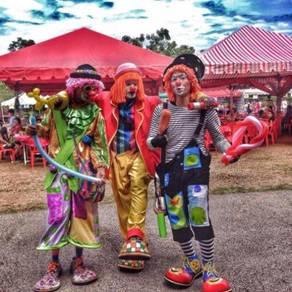 Malacca Clown Service & Melaka Badut professional