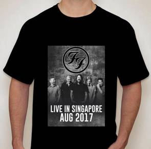 Foo Fighters LIVE in SINGAPORE 2017 tshirt