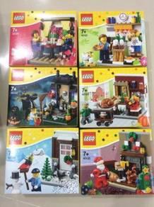 Lego Seasonal Combo (40120-40125)