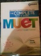 The Complete Text & Guide MUET(Latest Exam Format)