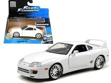 Brian's Toyota Supra White 1/32 (fast & furious 7)