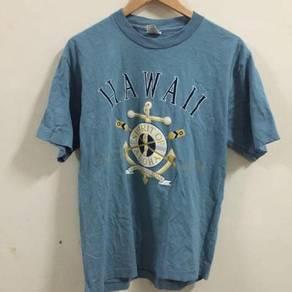 Hawaii Maui Aloha Sail sailing shirt size L