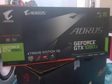 Gigabyte Aorus GTX 1080ti extreme edition