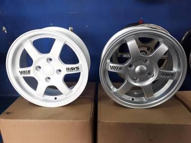 New rim 14 inch TE37 Copy Ori