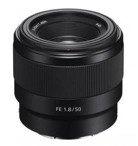 NEW Sony FE 50mm F1.8 Prime Full Frame Lens A7 III