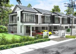 Sepang Dengkil - New 2sty House with Gated & Guarded (1% Down Payment)