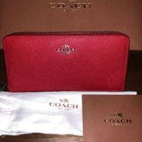 Coach wallet cri lth acc zip