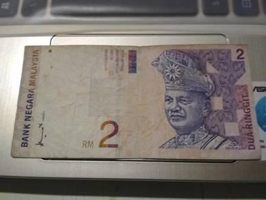 RM2 lama Tandatangan Ahmad Don