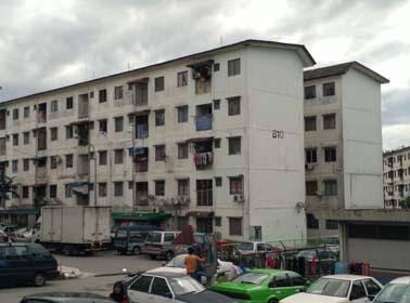 Apartment Palma dikawasan tumpuan, Rawang