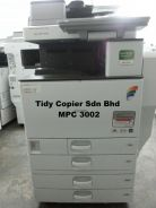 Best buy color machine copier mpc3002