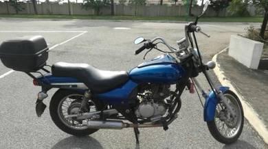 Motosikal jaguh untuk dijual