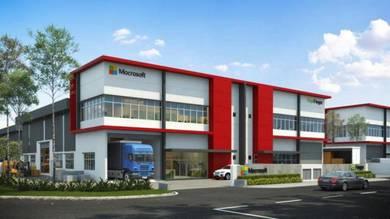 New Development 2 sty Semi-D Factory Area Puchong ( rebate 10% )