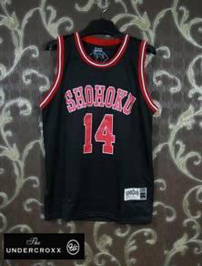 Slam Dunk Shohoku Mitsui 14 Basketball Black