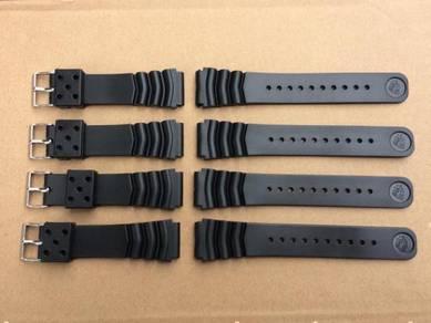 Rubber Strap 22mm Seiko Diver