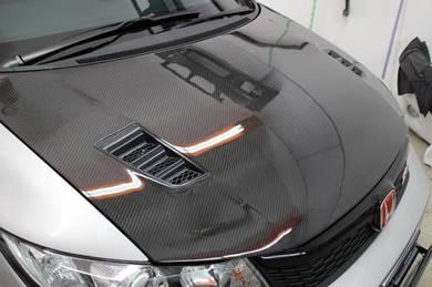 Honda Civic FB mugen RR carbon hood