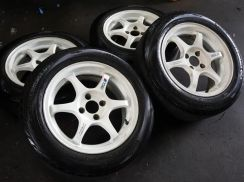 Rim second 15inci SSR TYPE-C Siap Tayar