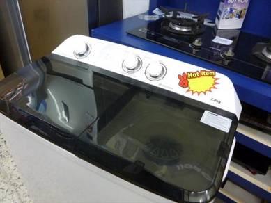 0% GST * New SHARP 7kg Semi Auto Washing Machine