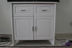Tv cabinet white collection