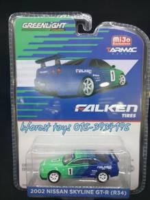 Original GreenLight 2002 GT-R R34 /1968 Datsun 510