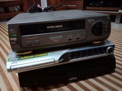 DVD CD ,astro, Tape player (spare part)