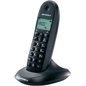 Motorola c1001la cordless phone black