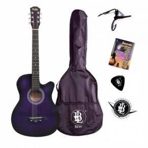 Pro Akustik Gitar Pakej- Bag, Capo, Buku Kord (Pp)