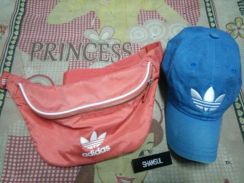 Waist bag and classic cap adidas