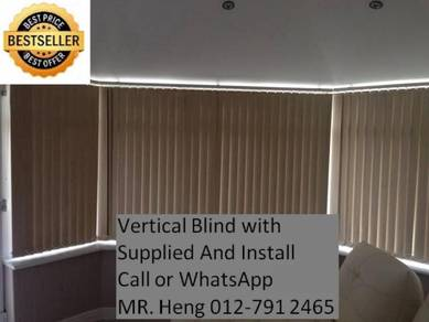Window Covering with Vertical Blind 34g4