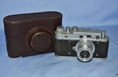 Antique russian zorki c leica copy camera 1957